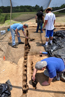 Archaeology Field School - Rhodes College/Univ. of Memphis 2011