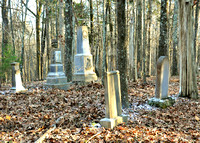 19th Century Cemeteries on Ames Plantation